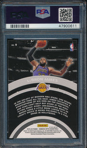 2019-20 Donruss Optic Star Gazing 9 LeBron James Holo PSA 9 MINT 14914