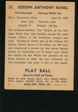 Load image into Gallery viewer, 1941 Play Ball  31  Joe Kuhel  VG-EX 4627