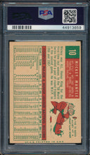 Load image into Gallery viewer, 1959 Topps  10 MICKEY MANTLE  PSA 4.5 VG-EX+ DS_106