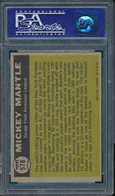 Load image into Gallery viewer, 1961 Topps  578 MICKEY MANTLE All Star AS PSA 8 NM-MT DS_109