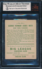 Load image into Gallery viewer, 1933 Goudey  53 BABE RUTH  BVG 1.5 FAIR DS_121