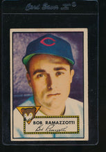 Load image into Gallery viewer, Scan of 1952 Topps 184 Bob Ramazzotti VG-EX