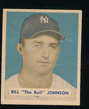 Load image into Gallery viewer, Scan of 1949 Bowman 129 Bill Johnson G