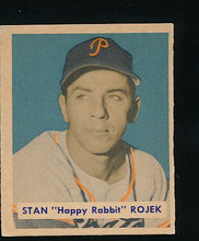 Load image into Gallery viewer, Scan of 1949 Bowman 135 Stan Rojek VG-EX