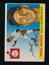 Load image into Gallery viewer, Scan of 1955 Topps 13 Fred Marsh VG