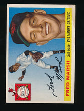 Load image into Gallery viewer, Scan of 1955 Topps 13 Fred Marsh VG (ST)