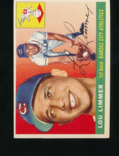 Load image into Gallery viewer, Scan of 1955 Topps 54 Lou Limmer EX-MT