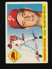 Load image into Gallery viewer, Scan of 1955 Topps 62 Thornton Kipper G