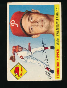 Scan of 1955 Topps 62 Thornton Kipper G