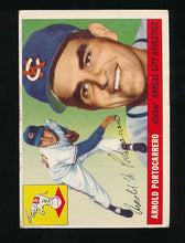 Load image into Gallery viewer, Scan of 1955 Topps 77 Arnie Portocarrero G