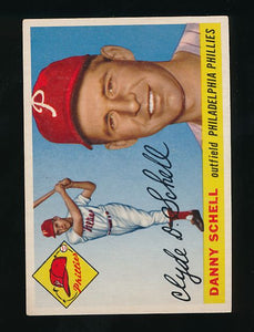 Scan of 1955 Topps 79 Clyde Danny Schell EX-MT