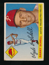 Load image into Gallery viewer, Scan of 1955 Topps 79 Clyde Danny Schell VG