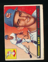 Load image into Gallery viewer, Scan of 1955 Topps 101 Johnny Gray P