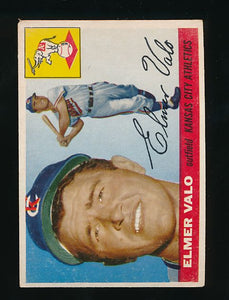 Scan of 1955 Topps 145 Elmer Valo VG