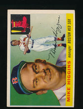 Load image into Gallery viewer, Scan of 1955 Topps 150 Mike Higgins EX