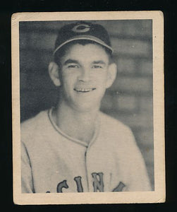 Scan of 1939 Play Ball 2 Lee Grissom VG