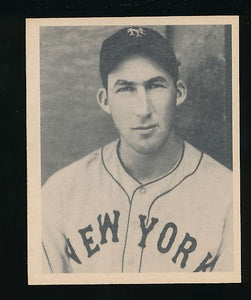 Scan of 1939 Play Ball 18 Harry Danning Trimmed