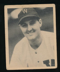 Scan of 1939 Play Ball 21 Dutch Leonard Trimmed
