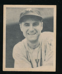 Scan of 1939 Play Ball 35 Bill Jurges P