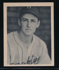 Scan of 1939 Play Ball 141 Pete Coscarart Trimmed