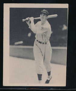 Scan of 1939 Play Ball 114 Cecil Travis Trimmed