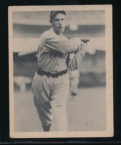 Scan of 1939 Play Ball 102 Lem Young VG-EX