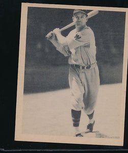 Scan of 1939 Play Ball 100 Buddy Myer Trimmed