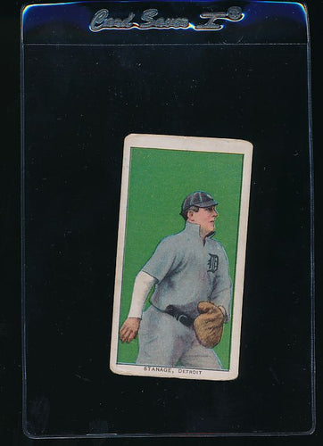 Scan of 1909-1911 T206  Oscar Stanage VG