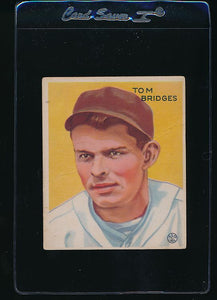 Scan of 1933 Goudey 199 Tom Bridges G