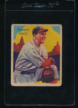 Load image into Gallery viewer, Scan of 1935 Diamond Stars 107 Stan Hack G