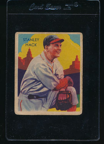 Scan of 1935 Diamond Stars 107 Stan Hack G