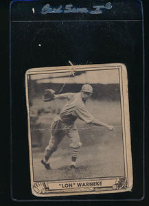 Scan of 1940 Play Ball 114 Lon Warneke  P