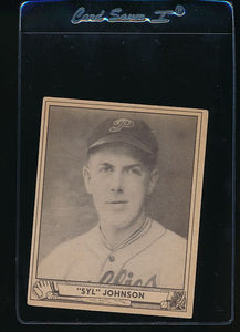 Scan of 1940 Play Ball 99 Syl Johnson  VG-EX