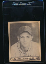 Load image into Gallery viewer, Scan of 1940 Play Ball 85 Hal Schumacher  EX (ST)