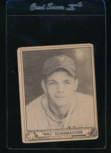 Load image into Gallery viewer, Scan of 1940 Play Ball 85 Hal Schumacher  VG