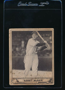 Scan of 1940 Play Ball 14 Rabbit McNair  VG (ST)