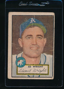 Scan of 1952 Topps 368 Ed Wright F