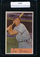 Load image into Gallery viewer, Scan of 1954 Bowman 11  Sid Gordon EX-MT