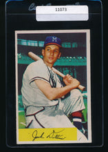 Load image into Gallery viewer, Scan of 1954 Bowman 48  Jack Dittmer VG-EX