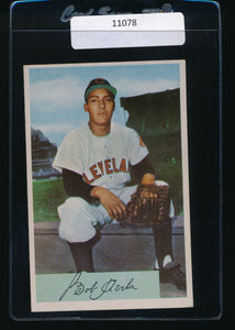 Scan of 1954 Bowman 68  Bobby Avila VG-EX