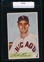 Load image into Gallery viewer, Scan of 1954 Bowman 102  Billy Pierce EX