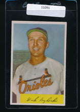Load image into Gallery viewer, Scan of 1954 Bowman 117  Dick Kryhoski EX