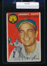 Load image into Gallery viewer, Scan of 1954 Topps 193 Johnny Hopp VG