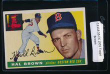 Load image into Gallery viewer, Scan of 1955 Topps 148 Hal Brown EX