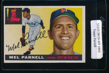 Load image into Gallery viewer, Scan of 1955 Topps 140 Mel Parnell EX-MT