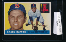 Load image into Gallery viewer, Scan of 1955 Topps 131 Grady Hatton EX