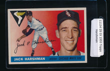 Load image into Gallery viewer, Scan of 1955 Topps 104 Jack Harshman EX