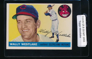 Scan of 1955 Topps 102 Wally Westlake EX-MT