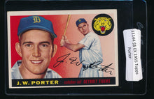 Load image into Gallery viewer, Scan of 1955 Topps 49 J.W. Porter EX