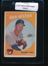 Load image into Gallery viewer, Scan of 1959 Topps 520 Don Elston G